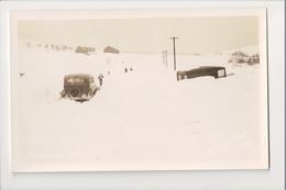 I-397 Ebensburg Pennsylvania Deep Snow In Winter 1936 Orville Jones Real Photo RPPC - United States