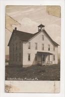 I-406 Rosebud Pennsylvania School Building Real Photo Postcard - United States