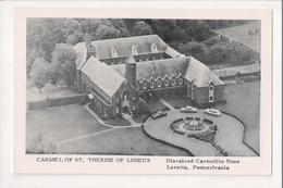I-418 Loretto Pennsylvania Carmelite Monastery Of St. Therese Of Lisieux Postcard - United States