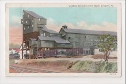 I-419 Coalport Pennsylvania Cambrin Smokeless Coal Tipple Postcard - United States
