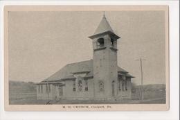 I-422 Coalport Pennsylvania ME Church Postcard - United States