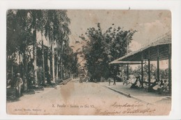 I-429 Sao Paulo Brazil Jardim Da Luz VI Early UDB Postcard - Postcards