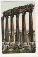 I-447 Balbek Temple Of The Sun Lebanon Syria Turkey Beyrouth Postcard - Postcards