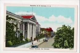 I-451 San Salvador Republica De El Salvador Palacio Nacional 1951 Postcard - Postcards