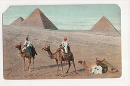 I-624 Egypt The Three Pyramids Of Gizeh Postcard - Other