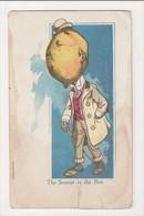 I-665 Lemonhead Lemon Head Man The Sourest In The Box Postcard - Other