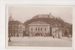 I-675 Ljubljana Yugoslavia Slovenia Kongresni Trg. Real Photo Postcard - Postcards
