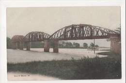 I-716 Boat O' Rhone Parton Parish Loch Ken Bridge Scotland Hand Colored Postcard - Ver. Königreich