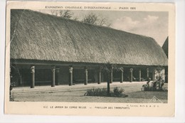 I-745 Belgium Congo Exposition Coloniale International Paris 1931 - Postcards