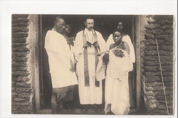 I-743 Belgium Congo Postcard Association Of Holy Childhood Ceremony Baptistism ? - Postcards