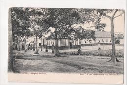 I-749 Boma Belgium Congo Hopital Des Noirs UDB Postcard - Other