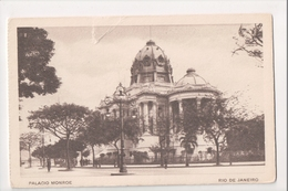 I-770 Brazil Rio De Janeiro Postcard Palacio Monroe - Postcards