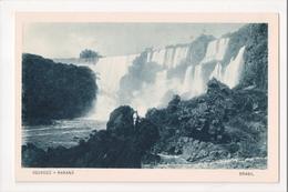 I-772 Brazil Iguassu Parana Waterfall Postcard - Postcards