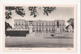 I-781 Brazil Rio De Janeiro Postcard Museu Nacional - Postcards