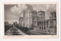 I-785 Brazil Rio De Janeiro Postcard Praca Floriano - Postcards