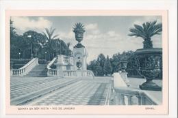 I-786 Brazil Rio De Janeiro Postcard Quinta Da Boa Vista - Postcards