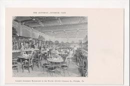 I-838 The Automat Largest Automatic Restaurant Philadelphia PA UDB Postcard - United States