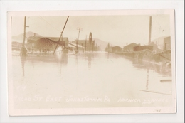 I-868 Johnstown Pennsylvania Flood Broad Street East Real Photo 1936 Postcard - United States