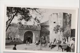 I-883 Safi Entr�e Ville Par Le Souk Maroc Morocco Africa Vintage Real Photo Postcard - Postcards