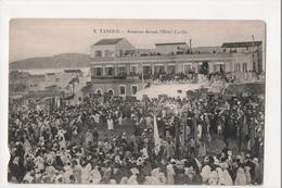 I-885 Tangier Tanger Maroc Morocco Africa Aissaoua Devant L'Hotel Cavilla Postcard - Postcards