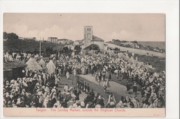 I-886 Tangier Tanger Maroc Morocco Africa Sunday Market Anglican Church Postcard - Other