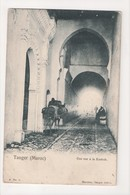 I-892 Tangier Tanger Maroc Morocco Africa Rue A La Kasbah Vintage Postcard - Postcards