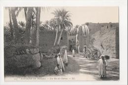 I-889 Biskra Maroc Morocco Africa Rue De Chima Vintage Postcard - Postcards