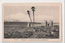 I-891 Rabat Maroc Morocco Africa Remparts De Chella Vintage Postcard - Other