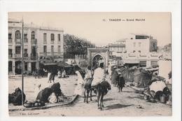 I-896 Tangier Tanger Maroc Morocco Africa Grand Marche Vintage Postcard - Postcards
