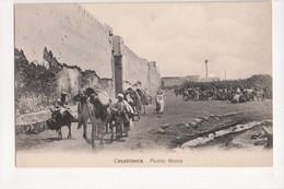 I-903 Casablanca Maroc Morocco Africa Puerta Nueva Vintage Postcard - Other