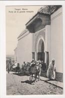 I-906 Tangier Tanger Maroc Morocco Africa Porte De La Grande Mosquee Vintage PC - Postcards