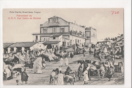 I-905 Tangier Tanger Maroc Morocco Africa Hotel Cavilla Grand Soko Vintage PC - Other
