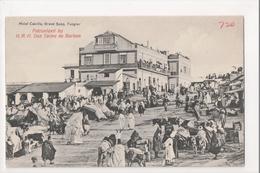 I-905 Tangier Tanger Maroc Morocco Africa Hotel Cavilla Grand Soko Vintage PC - Postcards