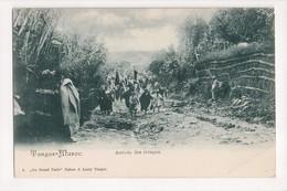 I-909 Tangier Tanger Maroc Morocco Africa Arrivee Des Troupes Vintage Postcard - Other