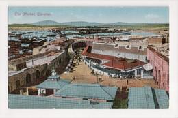 I-912 Gibraltar Vintage Postcard The Market - Postcards