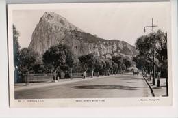 I-918 Gibraltar Vintage Postcard Rock North West Face Rolsin Real Photo - Postcards