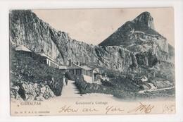 I-914 Gibraltar Vintage Postcard Governor's Cottage 1905 Postmark - Postcards