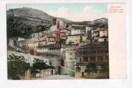 I-921 Gibraltar Vintage Postcard Casemates And Moorish Castle - Postcards