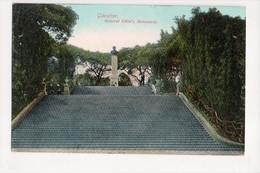I-924 Gibraltar Vintage Postcard General Elliot's Monument - Postcards