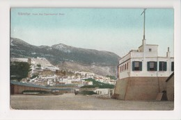 I-926 Gibraltar Vintage Postcard From The Commercial Mole - Postcards