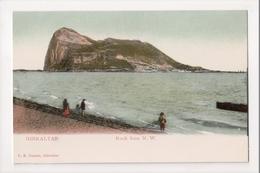 I-927 Gibraltar Vintage Postcard Rock From N.W. - Postcards