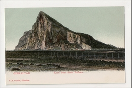I-931 Gibraltar Vintage Postcard Rock From Santa Barbara - Postcards