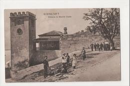 I-930 Gibraltar Vintage Postcard Entrance To Moorish Castle - Postcards