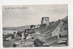 I-936 Gibraltar Vintage Postcard The Old Moorish Castle - Postcards