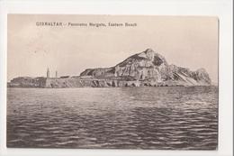 I-939 Gibraltar Vintage Postcard Panorama Margate Eastern Beach 1910 - Postcards