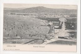 I-943 Gibraltar Vintage Postcard Neutral Ground UDB - Postcards