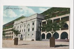 I-948 Gibraltar Vintage Postcard South Barracks - Postcards