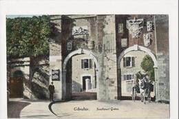 I-950 Gibraltar Vintage Postcard Southport Gates - Postcards