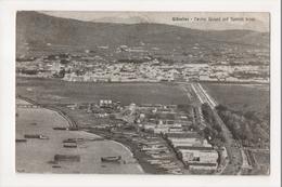 I-956 Gibraltar Vintage Postcard Neutral Ground And Spanish Lines - Postcards