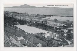 I-961 Gibraltar Vintage Postcard Alameda Grand Parade - Postcards